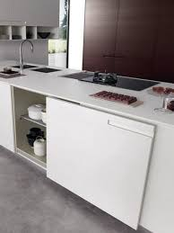 kitchen island trash bin storage cabinet hidden kitchen island