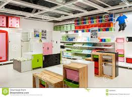 ikea furniture store kids zone editorial stock photo image 36888628