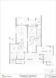 Ritz Carlton Floor Plans by 3622 West Beach Residence Dorado Beach Resort