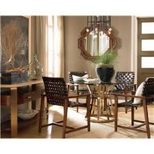 Drexel Dining Room Table Drexel Renderings Voussoir Pedestal Dining Table W Glass Top