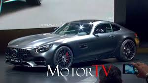 naias 2017 live l new 2018 mercedes amg gt c edition 50 l reveal