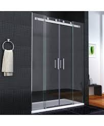 1500 Shower Door Aqua I8 Frameless Sliding Shower Door 1600mm X 1950mm High