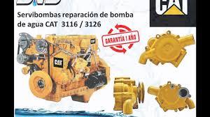 reparacion de bomba de agua caterpillar 3126 3116 guatemala youtube