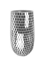 Large Mosaic Vase Buy Very Modern Design Extra Large Black And Mirror Mosaic Vase