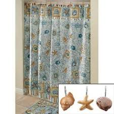 Sea Shell Curtains Spa Shells Shower Curtain Jcpenney Designs For Work