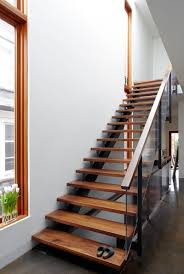 Glass Stair Banister Stair Great Spiral Staircase Design Ideas With Brown Solid Wood