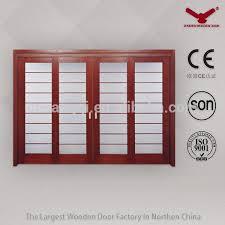 Interior Doors Sizes Glass Doors With Wooden Frame Crowdbuild For