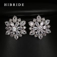 aliexpress buy new arrival white gold color aaa aliexpress buy hibride 2017 clear big flower shape
