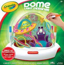 amazon com crayola dome light designer toys u0026 games