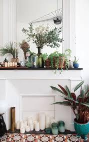 plante verte dans une chambre à coucher plante d interieur pour chambre a coucher design inspirant vert