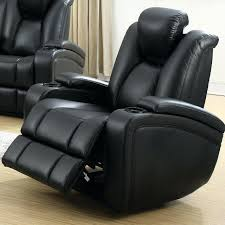 Recliner Chair With Speakers Recliner With Cup Holder And Speakers U0026 Premium Leather Sectional