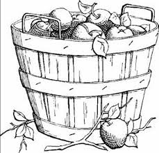 coloring harvest coloring pages