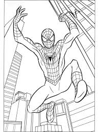 spider man coloring pages download and print spider man coloring