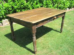 Antique Kitchen Table With Drawer Video And Photos - Farmhouse kitchen table with drawers