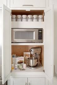 wood microwave cabinet foter