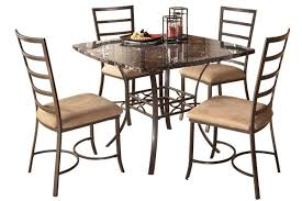 metal dining room tables roundhill furniture