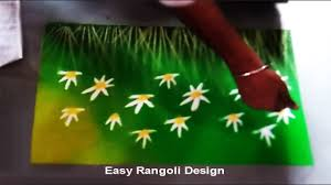 making rangoli designs instantly step by step easy tutorial youtube