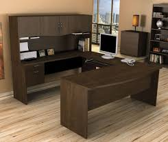 Corner Home Office Furniture by Bestar Harmony U Shaped Computer Desk Home Office Desk