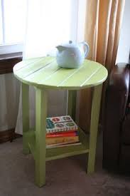 Diy Round End Table by Diy Pottery Barn Inspired Benchright Side Table Wood Furniture