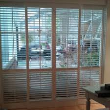 Bypass Shutters For Patio Doors Bella Shutters Inc Shades U0026 Blinds 22073 N Pepper Rd Lake