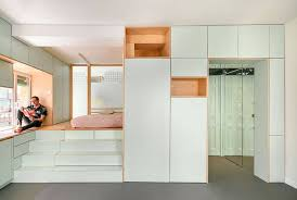 Apartment Stairs Design Micro Apartment Has Stairs You Can Sit Store Things In Sleep On