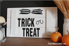 diy halloween sign find it make it love it