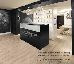 Reception Desk With Display Salon Reception Desk
