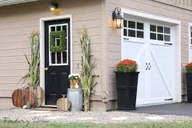 Decorating Your Home For Fall Garage Entry Fall Makeover Finding Home Farms