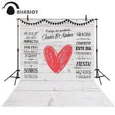 wedding backdrop board allenjoy backdrops heart custom white board wedding