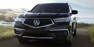 2018 acura mdx paint color options
