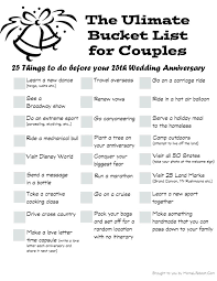 for couples the ultimate list for couples buckets