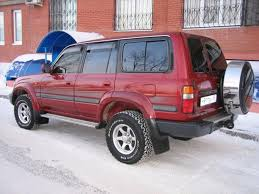 red land cruiser 1996 toyota land cruiser pictures