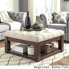Soft Coffee Tables Soft Ottoman Coffee Table Intuitivewellness Co