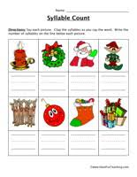 syllable worksheets have fun teaching