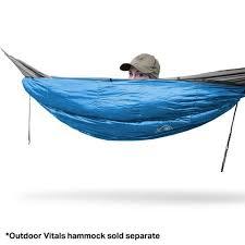 hammock insulation u2013 outdoorvitals
