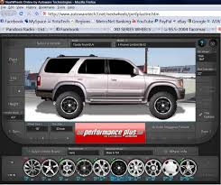 visualizer online nice online rim tire visualizer yotatech forums
