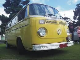 new volkswagen bus yellow vw bus festivals campervan crazy