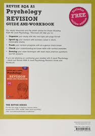 revise aqa as level psychology revision guide and workbook revise
