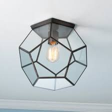 Glass Ceiling Fixture by Ceiling Lights U0026 Flush Mount Lighting Shades Of Light