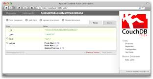 couchdb design document editor getting started