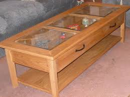 Glass Display Coffee Table 2018 Best Of Glass Top Display Coffee Tables With Drawers