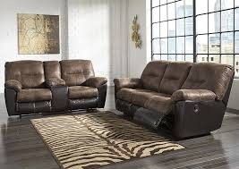 Sofa And Recliner Aloha Furniture Follett Coffee Reclining Sofa Loveseat