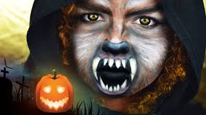 Werewolf Halloween Makeup by Wolf I Halloween Make Up Tutorial I Magscary Youtube