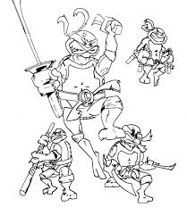 coloriage tortue ninja les beaux dessins de super héros à