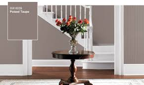 introducing the color of year poised taupe sw with family room