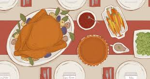 10 great thanksgiving menu songs rolling