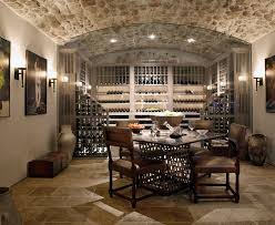 superb tuscan wall decorating ideas gallery in wine cellar