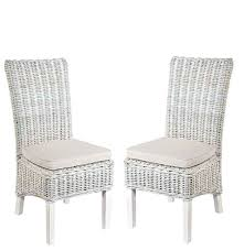 rattan white washed chair furniture4yourhome