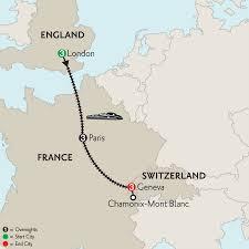 Tgv Map France by Monograms Tours London Paris U0026 Geneva With Mont Blanc 2016