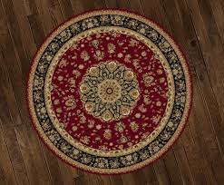 Round Red Rugs Second Life Marketplace Gb Rug Round Red Tan Persian Box